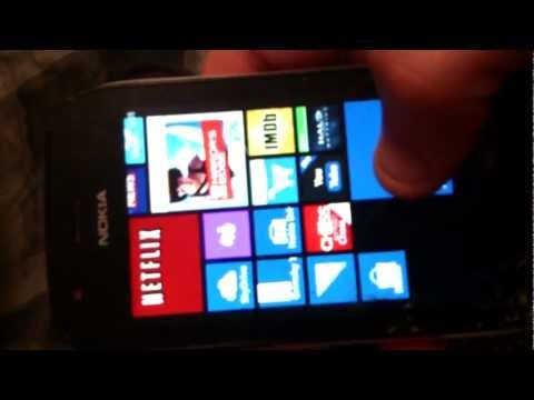 Nokia Lumia 710 - Windows Phone 7.8 Custom Rom