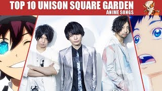 Mon Top 10 Anime Openings Endings By Unison Square Garden