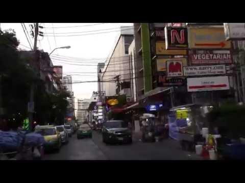 Ride through Sukhumvit soi 11 bangkok, thailand