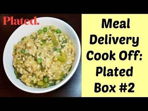 Meal Delivery Cook Off:  Plated Box #2