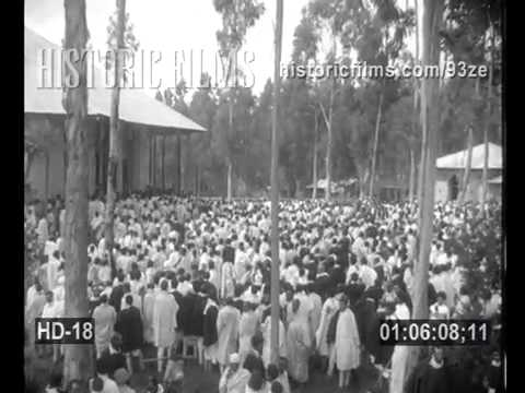 HISTORIC FILMS HD COLLECTION - ETHIOPIA MOBILIZES FOR ITALIAN INVAISION