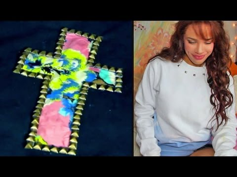 DIY: 2 Cheap Winter Sweatshirt Designs!