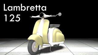 Lambretta 125  Classic 3D