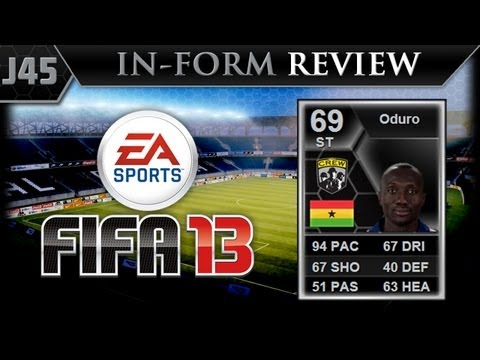 FIFA 13 Ultimate Team   Player Reviews   IF Oduro