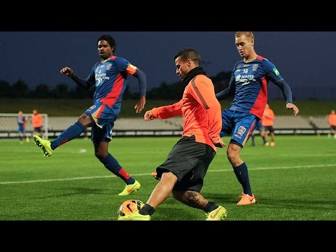 Newcastle Jets-Juventus 0-1: ultimo allenamento a Sydney - Last workout in Sydney