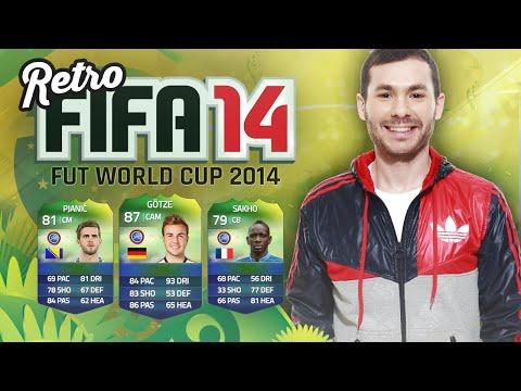 FIFA 14 RETRO - FUT WORLD CUP 2014 !
