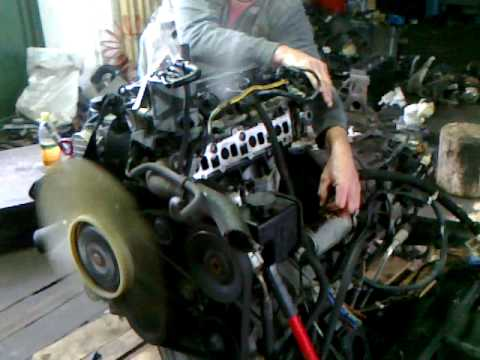Motor Start Mercedes Sprinter 311CD YouTube