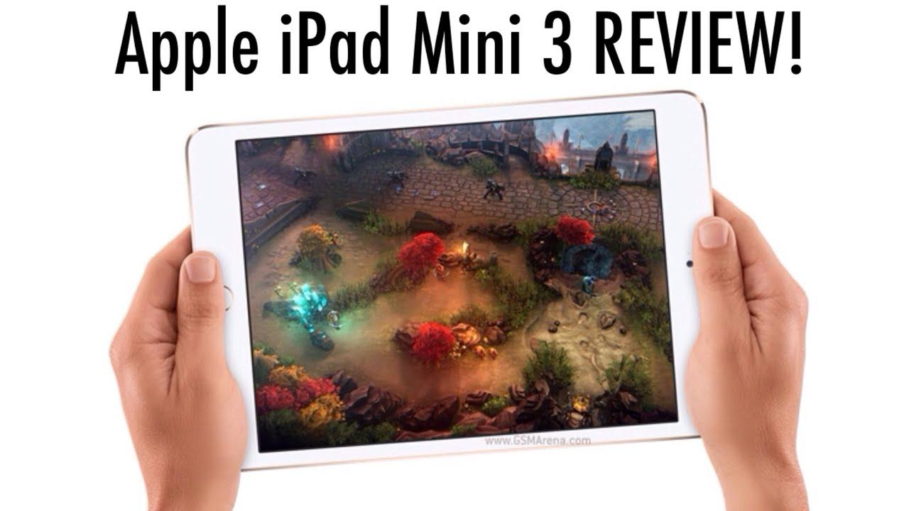 Specs Mini Ipad Ipad Mini 3 Review Specs