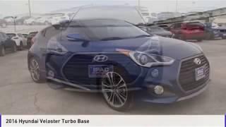 2016 Hyundai Veloster Turbo San Antonio TX M296717