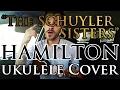 """The Schuyler Sisters"" - Hamilton - Ukulele Cover - Alex Denney"