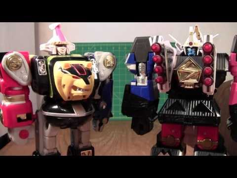 Power Rangers Shogun Megazord / Shogun Mega Falconzord Review (Muteki Shogun Tsubasamaru Toy)