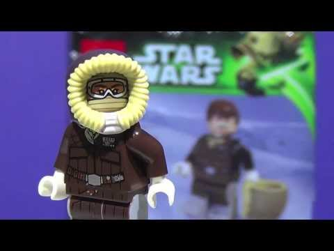 LEGO Star Wars 2013 :  Han Solo (Hoth) May 4th Exclusive Minifigure - Review