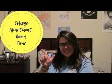 College Apartment Room Tour | Bethany Anne