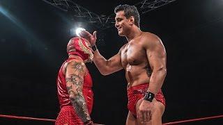Rey Mysterio Vs. Alberto El Patron (Pro Wrestling World Cup Mexico Part 5)