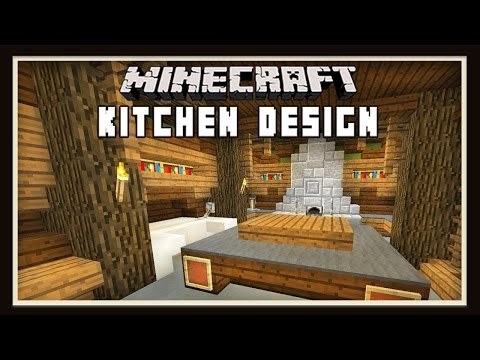 Minecraft: Kitchen Design Ideas    ( How To Build A House -  part 9)