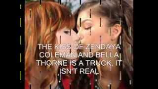 Zendaya Video - bella thorne and zendaya kissing is a truck