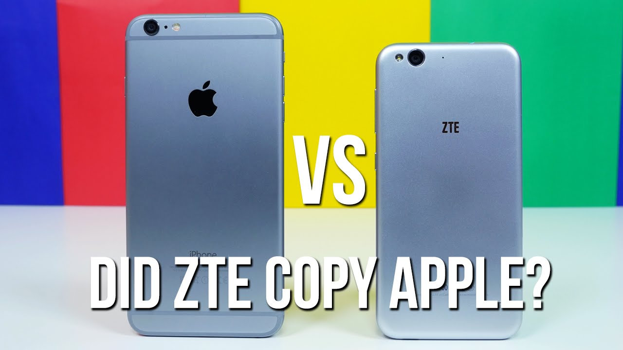 Zte Blade s6 vs Iphone 6 Iphone 6 Plus vs Blade s6