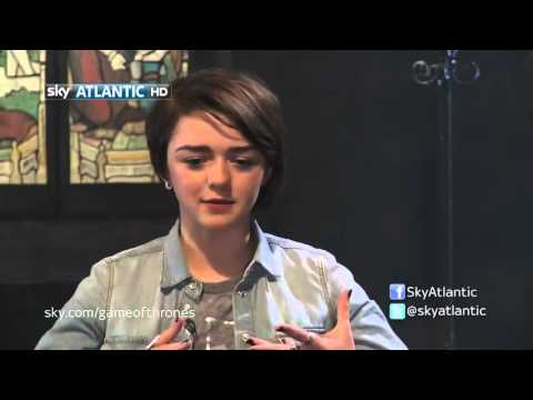 Interviews Maisie Williams, entrevista a Maisie Williams Game of Thrones