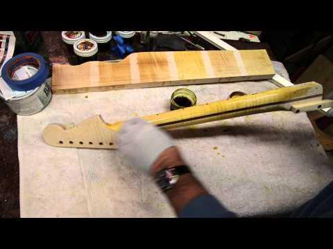 Building a Strat Neck Luthier Build Process Part 3
