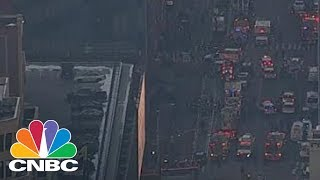 New York City Police Confirm Explosion In Port Authority | CNBC by : CNBC