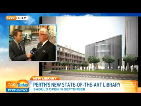Perth's New Library Part 1 | Today Perth News