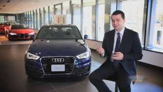 Audi A3 Media Preview - closer look