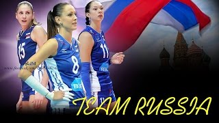All Russia women's volleyball team 2014 !!!