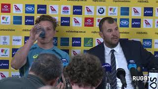 Full Press Conference: Cheika & Hooper