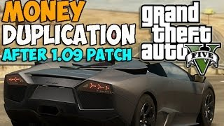 GTA 5 ONLINE: UNLIMITED MONEY GLITCH AFTER PATCH 1.09! (WORKING) GTA V