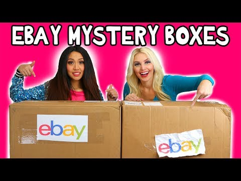 Ebay Mystery Box Haul. Jenn vs Thia Unboxing Video. Totally TV