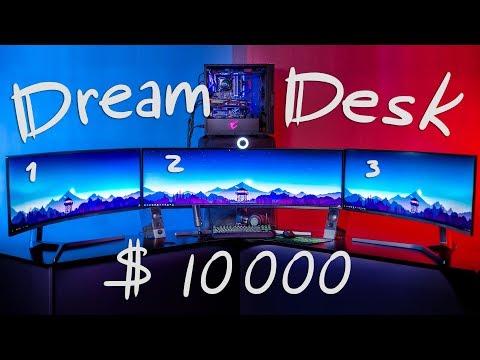 ИГРОВОЕ МЕСТО МЕЧТЫ | СУПЕР УЛЬТРАШИРОКИЙ DreamDesk за $10000