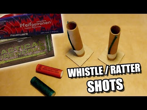 whistle / Ratter / Pfeif - SINGLESHOTS aus Kat2 SELBER BAUEN [HD]