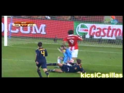 Iker Casillas world cup 2010
