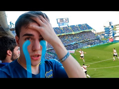 El GOLAZO con MÁS SUERTE en un CLÁSICO | BOCA vs RIVER 0-2 VLOG Fútbol
