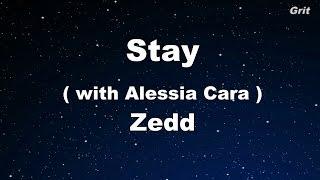 download lagu Stay - Zedd, Alessia Cara Karaoke 【no Guide Melody】 gratis