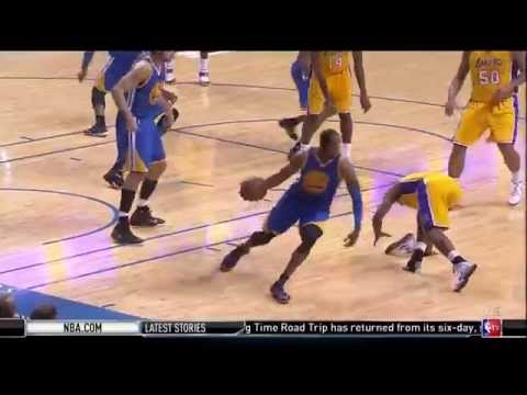 Ronnie Price Throwing his Nike Hyperquickness Sneaker at Andre Iguodala During Game