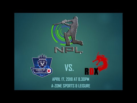 NPL Season 3: Lords of Cricket Vs. Reign of DragonX