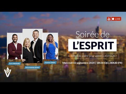 Soirée de l'Esprit | Mercredi 2 septembre 2020 - 18h30(QC) / 00h30(FR)