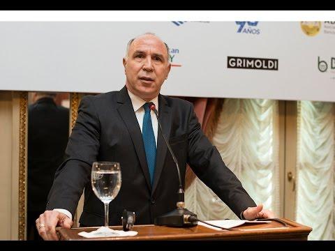 Ricardo Lorenzetti disertó en un encuentro del Consejo Interamericano de Comercio y Producción