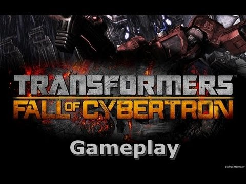 Transformers Fall of Cybertron on HD 5850