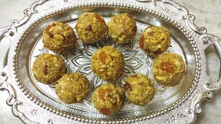 Coconut Dry Fruits Ladoo For Kids, Diabetes, Pregnancy, Diet & Weight Gain