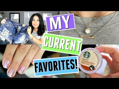 MY CURRENT FAVORITES! JULY 2016! BEAUTY, FASHION, & LIFESTYLE