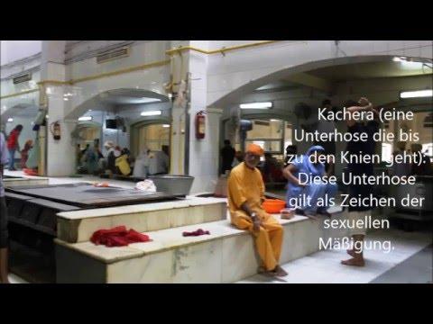 Fahrradtour In Delhi, Besuch Des Sikhstempels Bangla Und Der Freitagsmoschee, India video