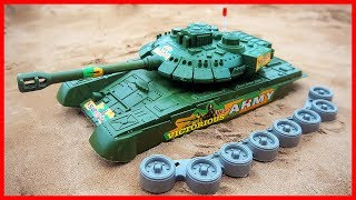 Military Vehicles Assembly Tank Toy Videos For Children