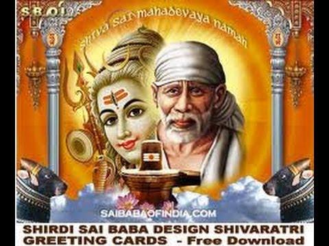 shiv sai eak nameSai Ram Sai Shyam   shirdi Sai Bhajan