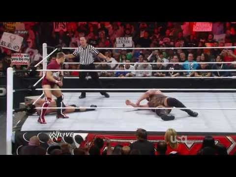 WWE RAW Randy Orton vs Big Show 13.02.2012.русс,озв от 545TV