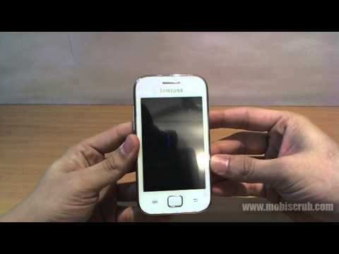Samsung Galaxy Ace Duos quick review - hardware, body and design - video