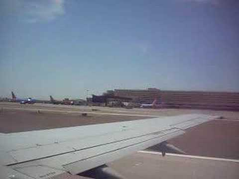 Leaving Phoenix Sky Harbor Airport Video