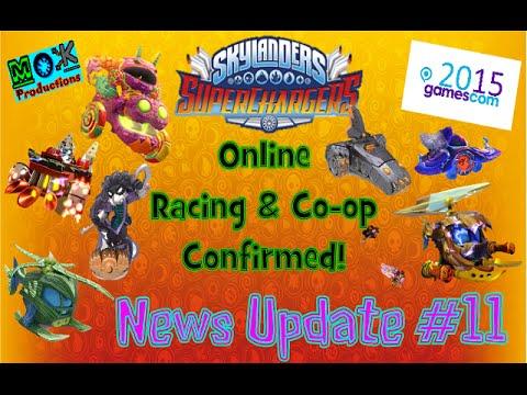 Games Com 2015: Skylanders: Superchargers: News Update #11: Online Co-op & Racing Revealed!