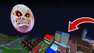 ŞEHRE KORKUNÇ AY GELDİ! 😱 - Minecraft